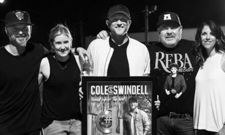 Cole Swindell 'Break Up In The End' certified platinum