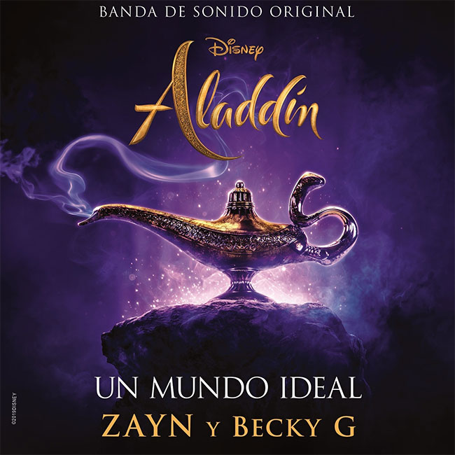 "Zayn, Becky G - ""A Whole New World"" (""Un Mundo Ideal"")"