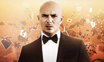 Live dancers, video screens (feat Pitbull) at Zappos Theatre Las Vegas