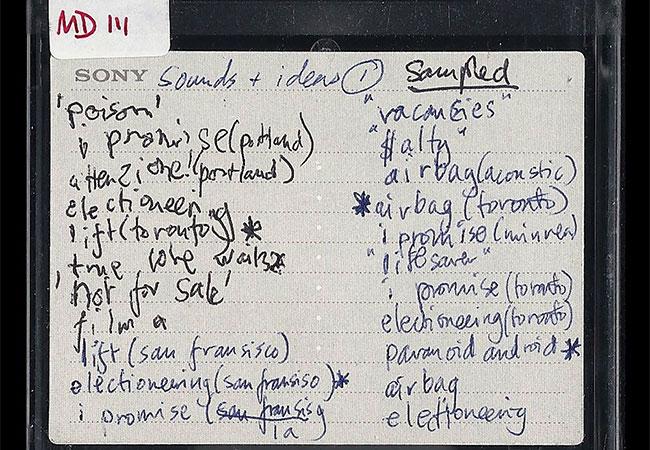 Radiohead - Minidisc Hacked