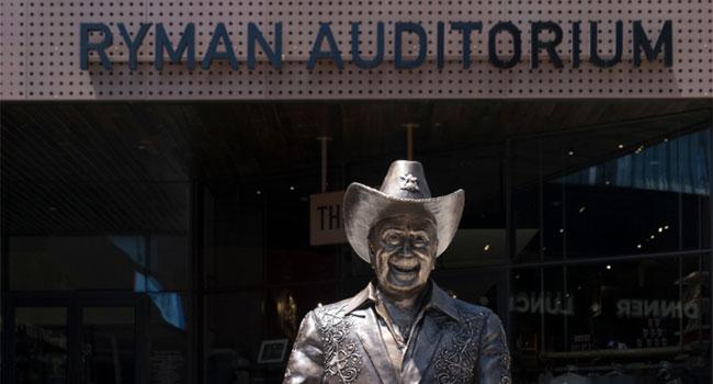 The Ryman Auditorium Icon Walk