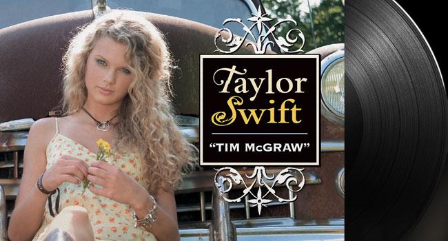 "Taylor Swift - Tim McGraw Limited Edition 7"" Vinyl Single"