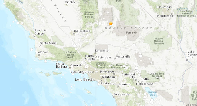 July 4, 2019 California Earthquake