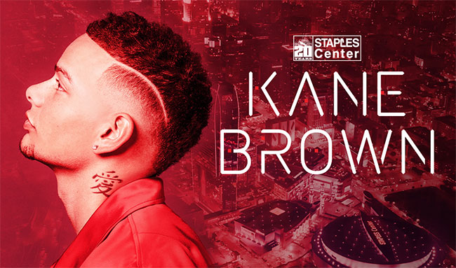 Kane Brown STAPLES Center 20th Anniversary Concert