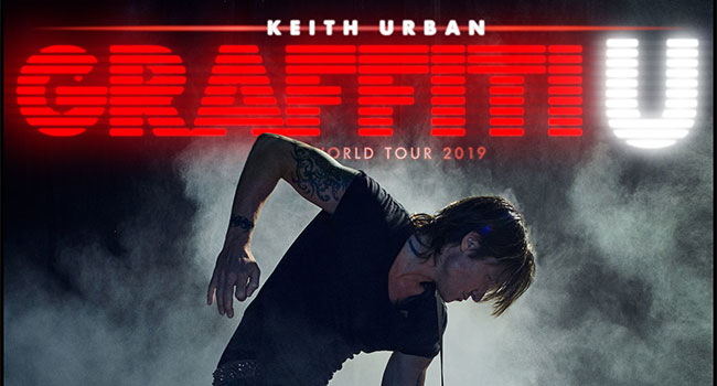 Keith Urban - Graffiti U World Tour