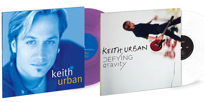 Keith Urban on vinyl