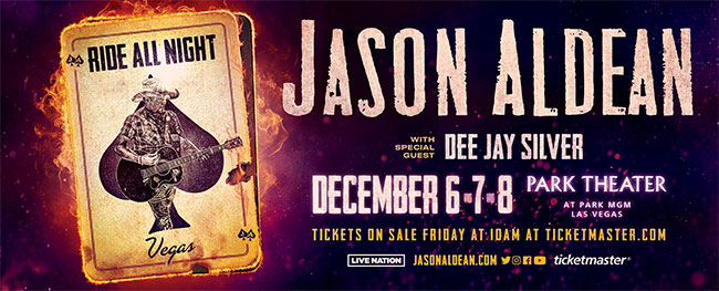 Jason Aldean: Ride All Night Vegas