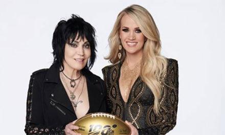 Carrie Underwood, Joan Jett records Sunday Night Football opening