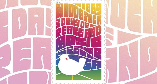 Woodstock Forever Stamp