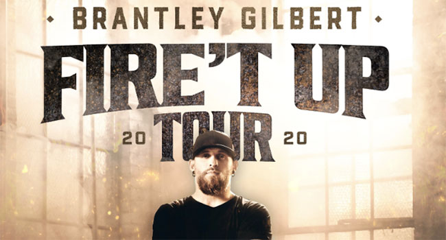 Brantley Gilbert - Fire't Up Tour