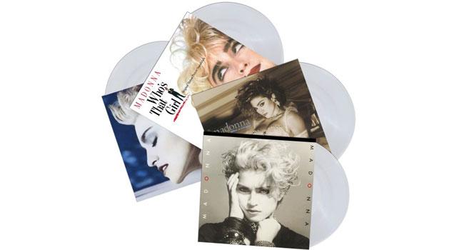 Madonna Clear Vinyl