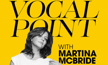 Martina McBride launches 'Vocal Point' podcast