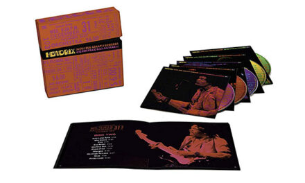 Jimi Hendrix Band of Gypsys Fillmore East performances compiled into boxed set