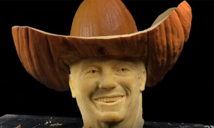 AXS TV celebrates George Strait with life-like Halloween pumpkin carving