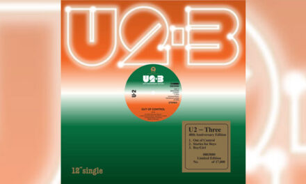 U2 releasing 'Three' debut EP for RSD Black Friday