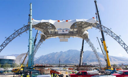 U2's famous 360° Tour stage permanently installed in Utah