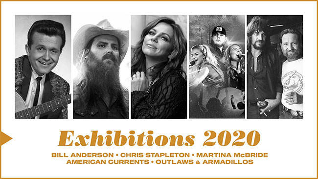 Country Music Hall of Fame 2020 Exhibitions