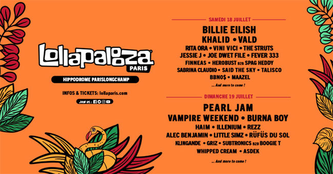 Lollapalooza Paris 2020