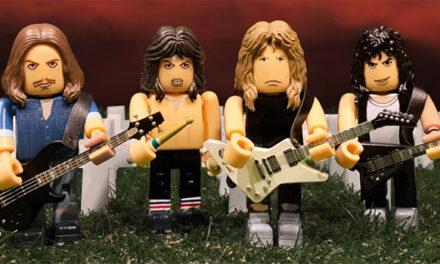 Metallica, Sex Pistols block figures announced