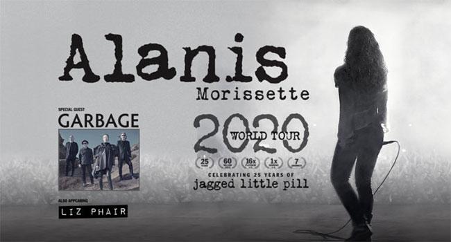 Alanis Morissette 2020 Tour