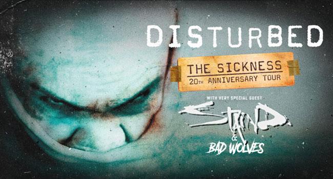 Disturbed 2020 Tour