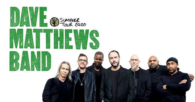Dave Matthews Band 2020 Tour