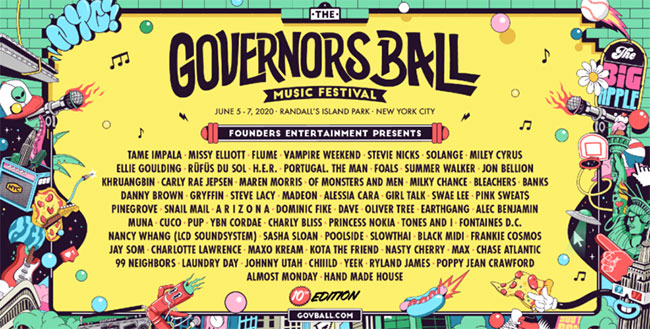 Governors Ball 2020