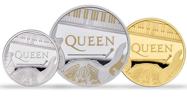 Queen Celebrated With £5 Coin