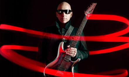 Joe Satriani announces 'Shapeshifting'
