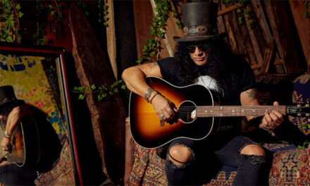 Gibson announces history-making Slash guitar collection