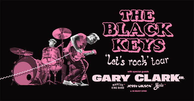 The Black Keys Let's Rock 2020 Summer Tour