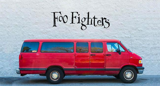 Foo Fighters 2020 Van Tour