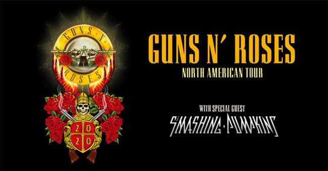 Guns N Roses & Smashing Pumpkins