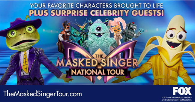 The Masked Singer National Tour 2020