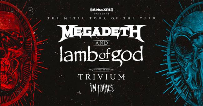 Megadeth & Lamb of God 2020 Tour