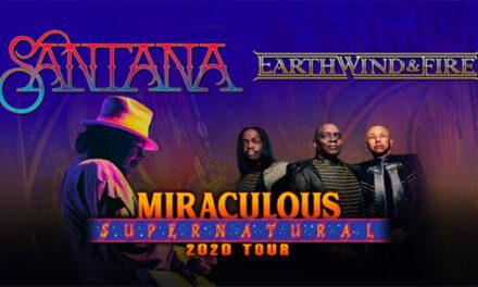 Santana, Earth Wind & Fire announce Miraculous Supernatural 2020 Tour