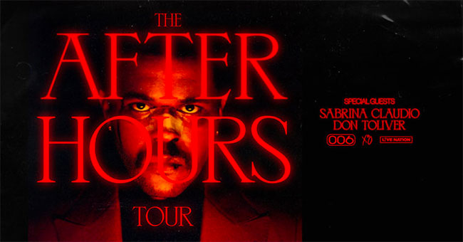 The Weekend - After Hours Tour