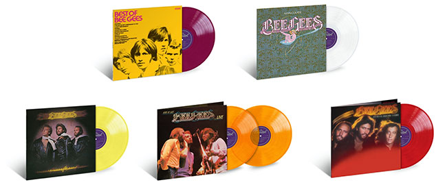 Bee Gees Vinyl Series
