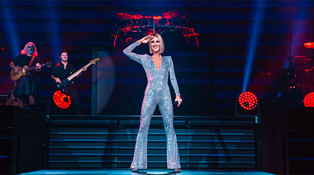 Celine Dion's 'Courage' on display in Newark show