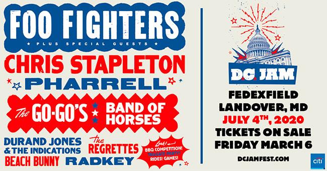 Foo Fighters DC Jam Fest
