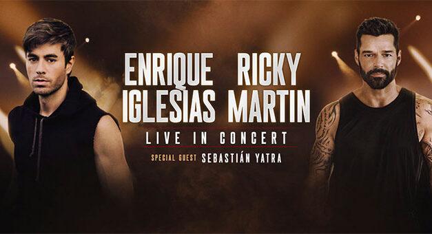 Enrique Iglesias & Ricky Martin announce rescheduled co-headlining tour dates