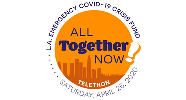 Star-studded 'All Together Now' COVID-19 Los Angeles livestream announced