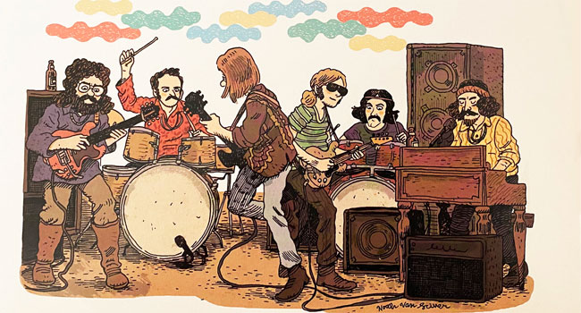Grateful Dead releases LP track listing from 'Origins' graphic novel