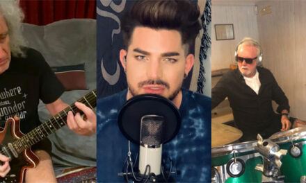 Queen + Adam Lambert honor frontline workers with 'You Are The Champions'