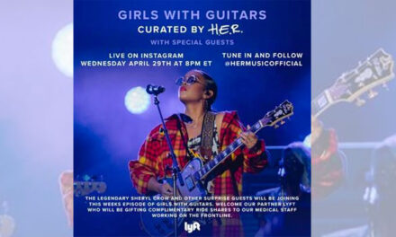 Sheryl Crow joins H.E.R's 'Girls With Guitars' livestream
