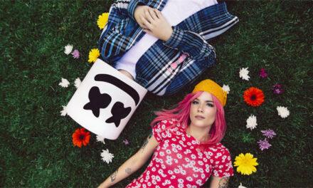 Marshmello, Halsey share 'Be Kind' video