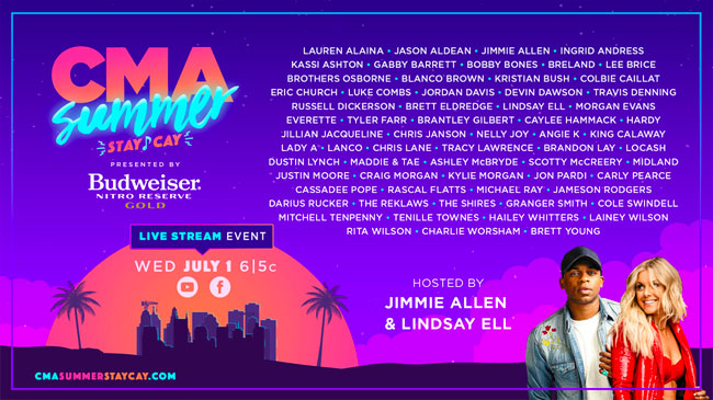 CMA Summer Stay-Cay presented by Budweiser Nitro Gold