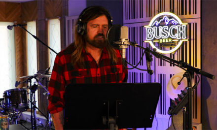 Billy Ray Cyrus, Busch Beer team for campaign