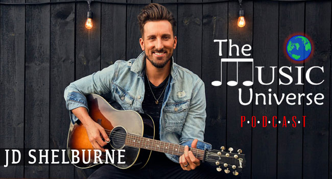 JD Shelburne on The Music Universe Podcast