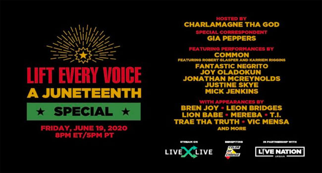 Lift Every Voice: A Juneteenth Special